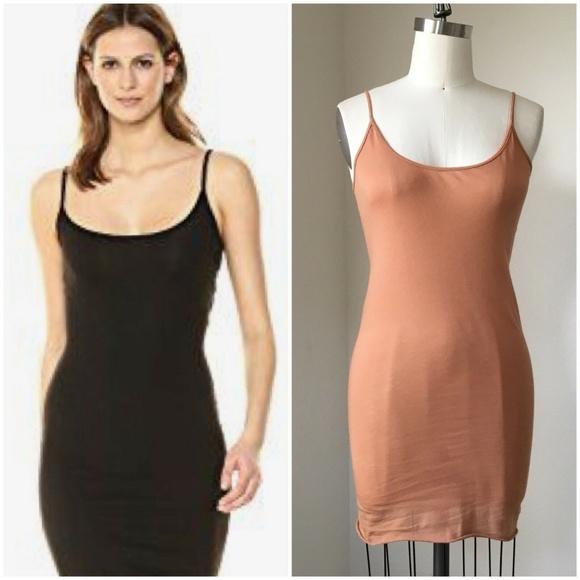 d9bfc15697b23 Enza Costa Dresses | 120 Tan Pima Cotton Camisole Strap | Poshmark